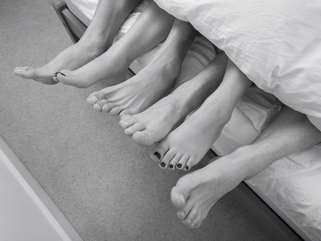 Trio - Activité sexuelle humaine