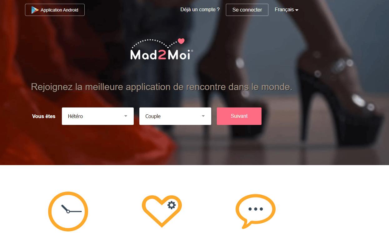 application libertine de rencontre Mad2Moi