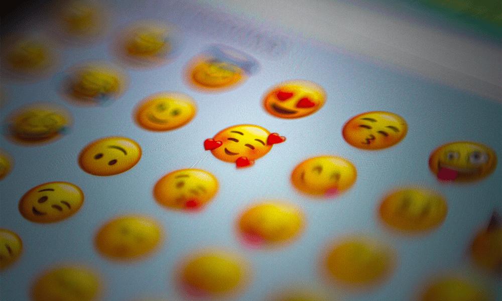 Utilisez des emojis pour un sexting efficace